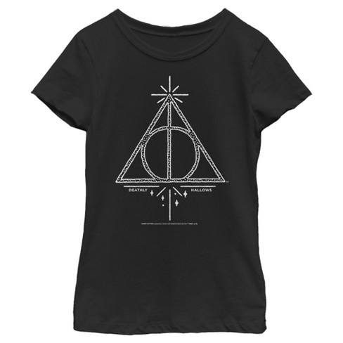 Girl's Harry Potter Deathly Hallows Symbol T-Shirt - image 1 of 3