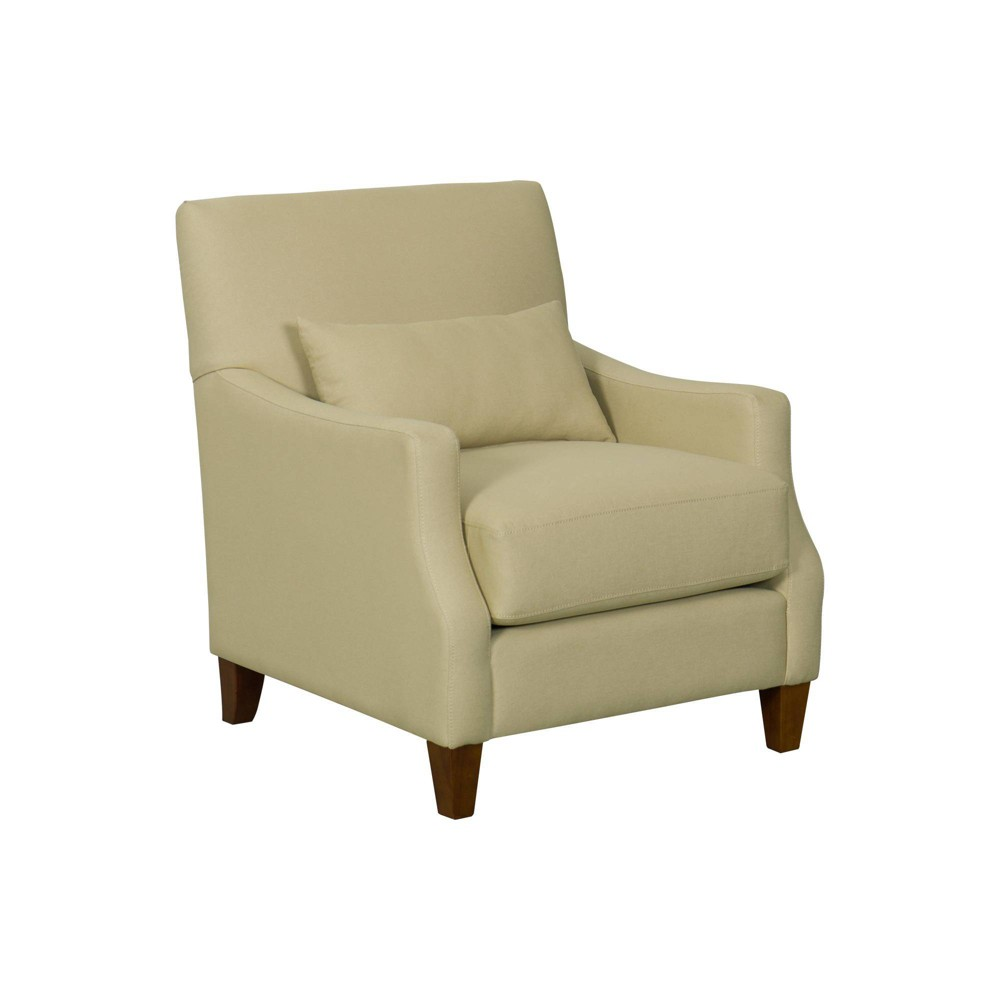 Pillowtop Edwin Accent Chair Taupe - HomePop was $449.99 now $337.49 (25.0% off)