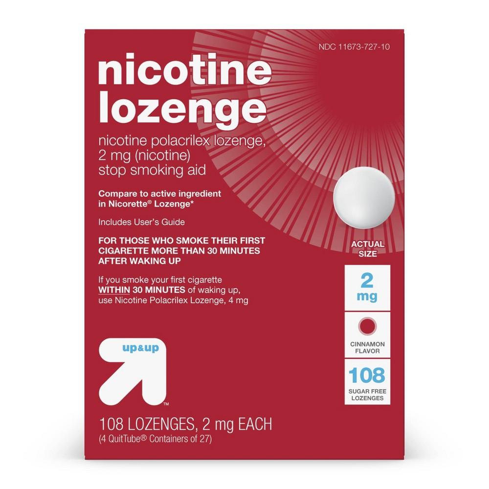 Nicotine 2mg Lozenge Cinnamon 108ct Up 38 Up 8482