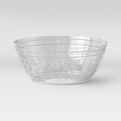 115oz Plastic Floral Serving Bowl - Opalhouse™