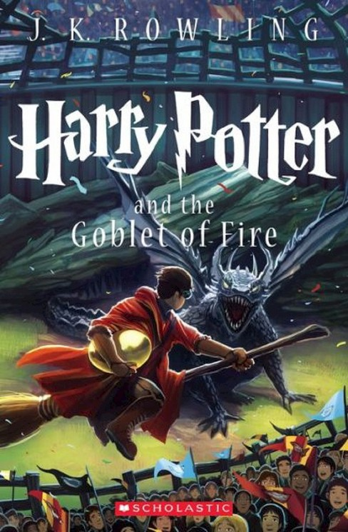 Harry Potter and the Goblet of Fire (Reissue) (Paperback) (J. K. Rowling) - image 1 of 1