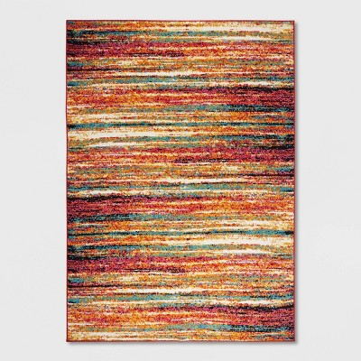 """20""""x32"""" Splash Abstract Stripe Accent Rug - Home Dynamix"""
