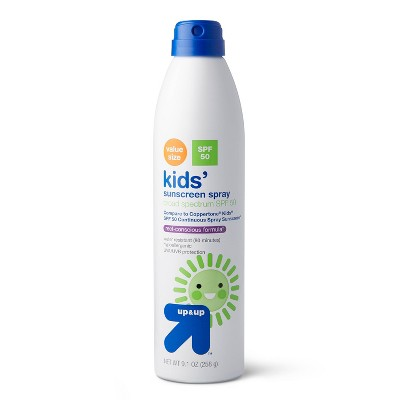 Kids Sunscreen Spray - SPF 50 - up & up™