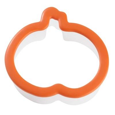 Wilton Plastic Grippy Jack-O-Lantern Cookie Cutter Orange