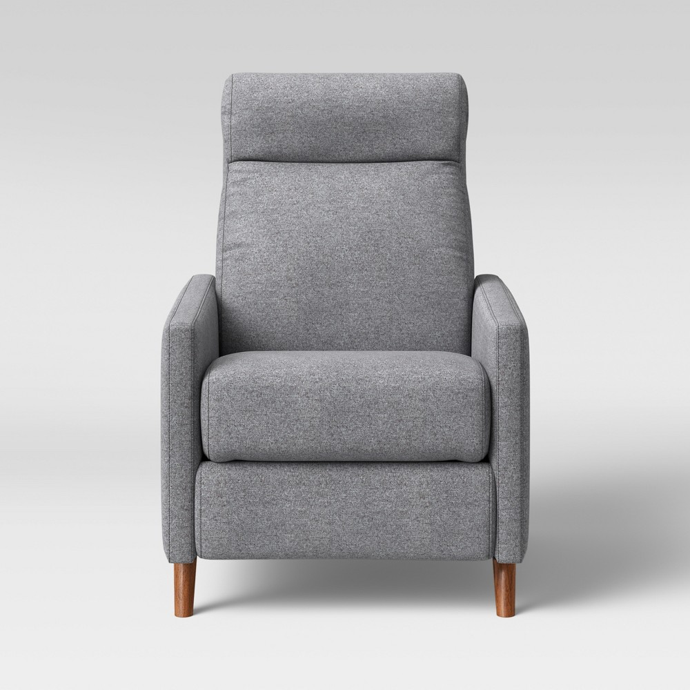 Calhoun Pushback Recliner Chair Gray - Project 62