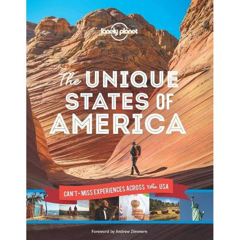 The Unique States of America - (Lonely Planet) (Hardcover) - image 1 of 1