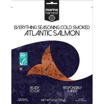 Marine Harvest Everything Seasoning Cold Smoked Salmon - 4oz
