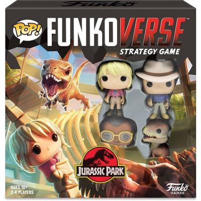 POP! Funkoverse Board Game Jurassic Park #100 Base Set