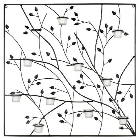 Tea Light Holder Tree Wall Decor - Safavieh - image 1 of 4