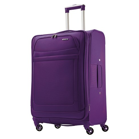 "American Tourister iLite Max Spinner Suitcase - Purple (25"") - image 1 of 9"