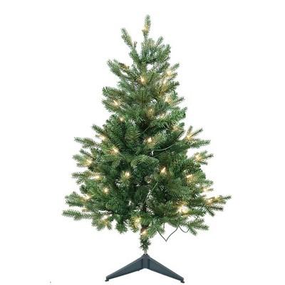 Kurt Adler 3' Pre-Lit Clear Incandescent Jackson Pine Tree