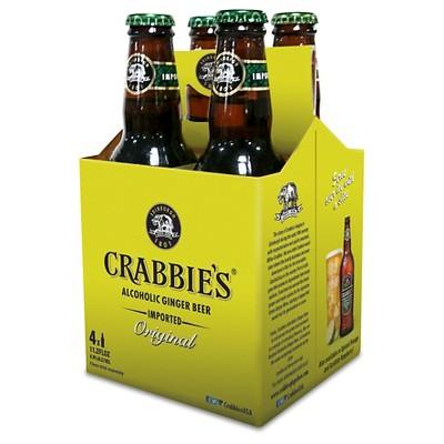 Crabbie's Original Alcoholic Ginger Beer - 4pk/11oz Bottles