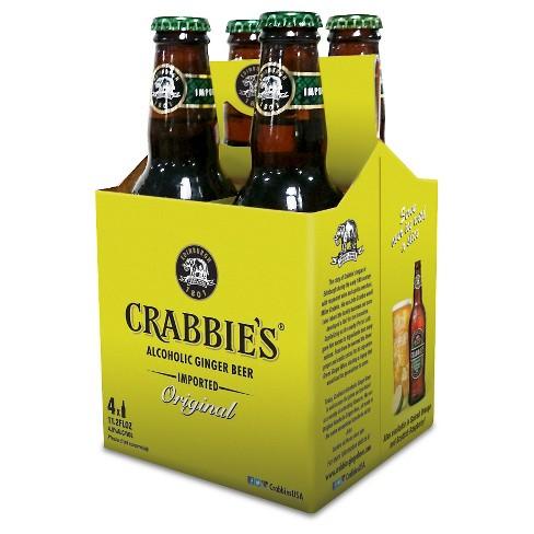 Crabbie's Original Alcoholic Ginger Beer - 4pk/11oz Bottles - image 1 of 1