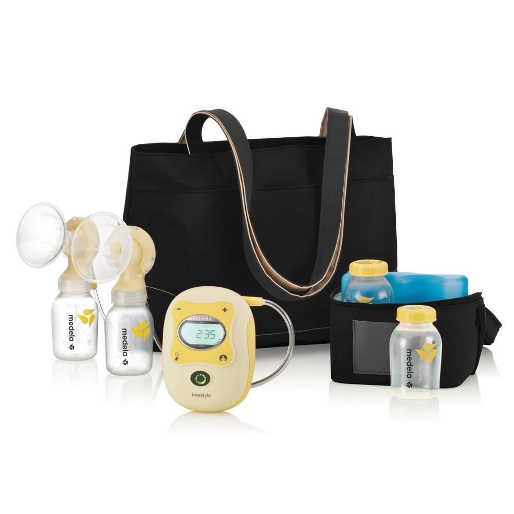 Image of Medela Freestyle Hands-Free Double Electric Breast Pump