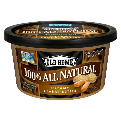 Old Home® All Natural Creamy Peanut Butter - 14oz - image 1 of 1