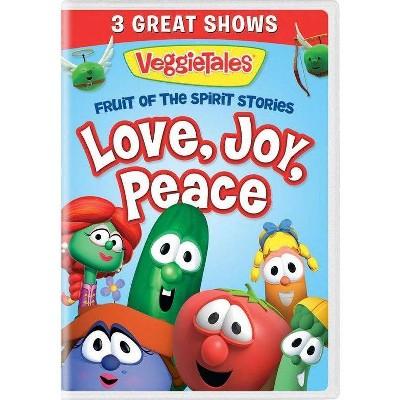 Veggie Tales: Fruit Of The Spirit Stories Volume 1 Love Joy Peace (DVD)(2021)
