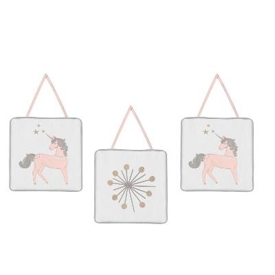 Sweet Jojo Designs Wall Hangings - Unicorn
