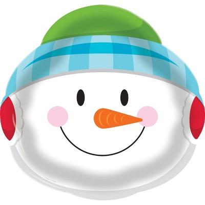 Snowman Plastic Tray