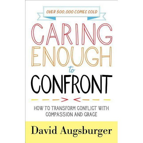 Caring Enough to Confront - by  David Augsburger (Counterpack,  Empty) - image 1 of 1