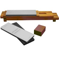 KRAMER by ZWILLING 6-pc Glass Water Stone Sharpening Set