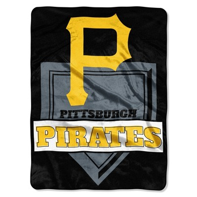 MLB Pittsburgh Pirates Mickey Mouse Throw Blanket and Pillow