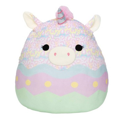 """Squishmallows 20"""" Easter Day - Tie Dye Unicorn in Egg"""
