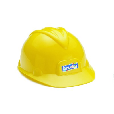 Bruder Construction Worker Hard Hat Yellow Helmet