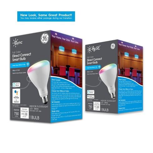 General Electric Full Color Smart LED Bulb BR30 - image 1 of 4