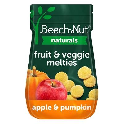 Beech-Nut Toddler Snack Apple & Pumpkin Melties - 1oz