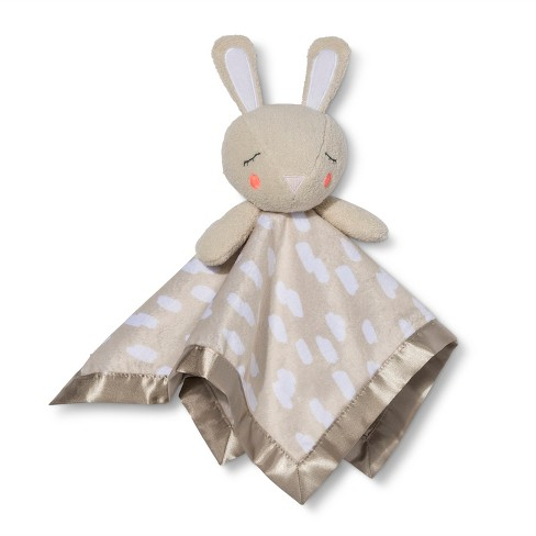 Small Security Blanket Bunny - Cloud Island™ Gray - image 1 of 2
