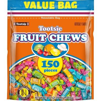 Tootsie Fruit Chews Standup Bag – 37oz