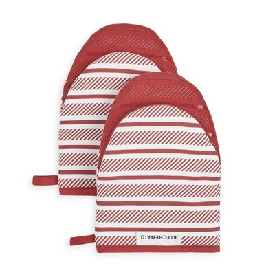 KitchenAid 2pk Cotton Albany Mini Oven Mitts