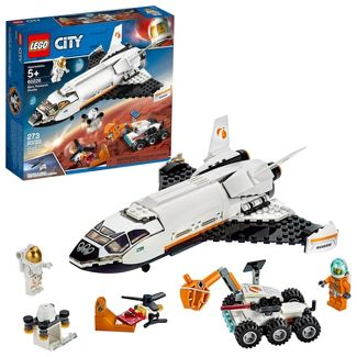 LEGO City Space Mars Research Shuttle Space Shuttle Toy Building Kit with Mars Rover 60226