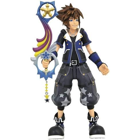 Diamond Select Kingdom Hearts 3 Select Action Figure | Wisdom Form Sora - image 1 of 4