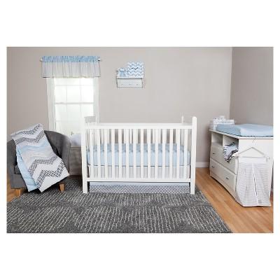Trend Lab 3pc Crib Bedding Set – Blue Taffy