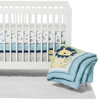 Trend Lab Crib Bedding Set - Jungle Roar - 4pc