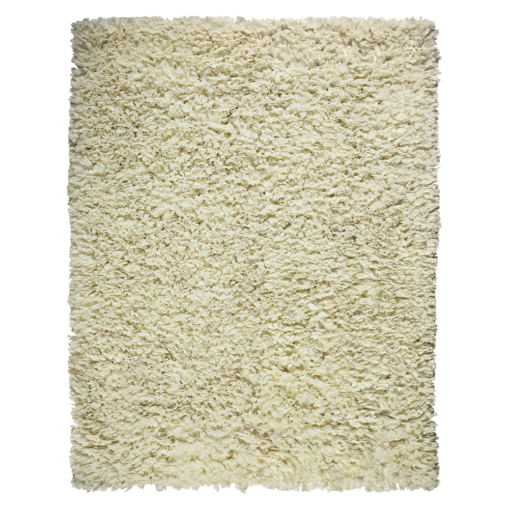 Image of 4'X6' Solid Area Rug Ivory - Anji Mountain