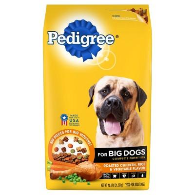 Dog Food: Pedigree Big Dogs Complete Nutrition