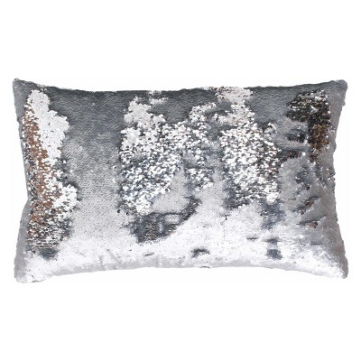 Melody Mermaid Reversible Sequin Throw Pillow   Decor Therapy by Decor Therapy