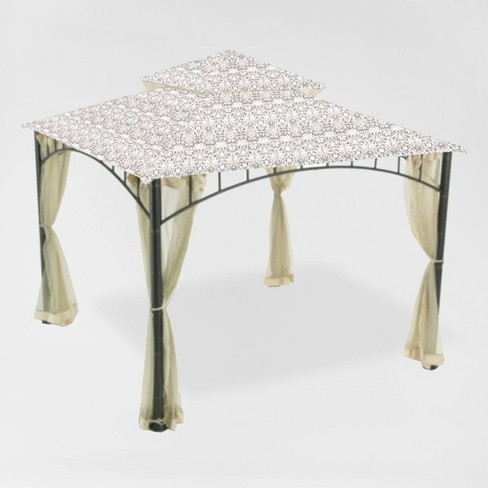 Madaga Replacement Canopy Damask Beige - Garden Winds - image 1 of 3