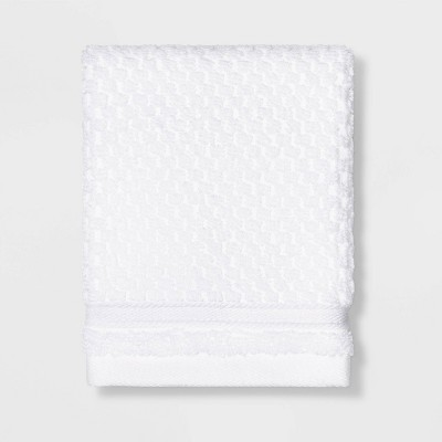 Performance Texture Washcloth White - Threshold™