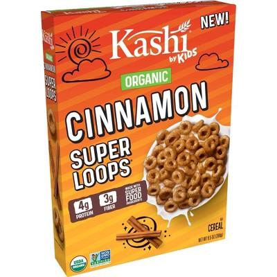Kashi by Kids Loops Cinnamon Cereal - 9.5oz