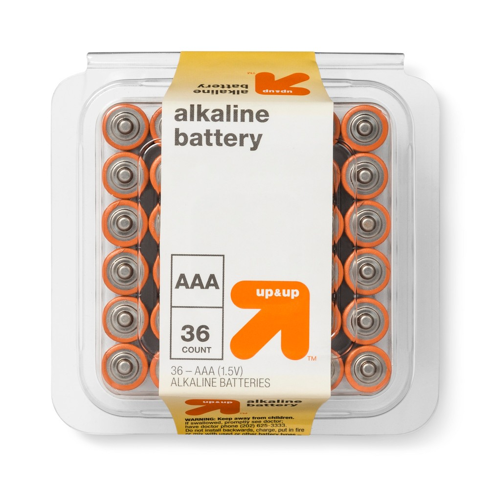 Aaa Batteries - 36ct - Up&Up Aaa Batteries - 36ct - Up&Up