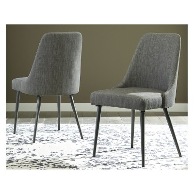Set of 2 Coverty Dining Upholstered Side Chair Light Brown - Signature Design by Ashley