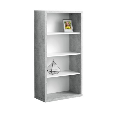 Bookcase White & Gray 16  - EveryRoom