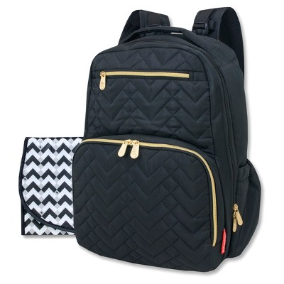 Fisher-Price Morgan Quilted Backpack - Black