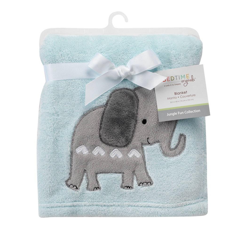 Image of Bedtime Originals Baby Blanket - Jungle Fun