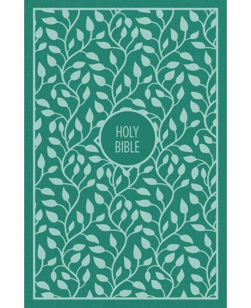 Holy Bible : King James Version, Turquoise Cloth Over Board, Thinline, Red Letter Edition (Large Print) - image 1 of 1