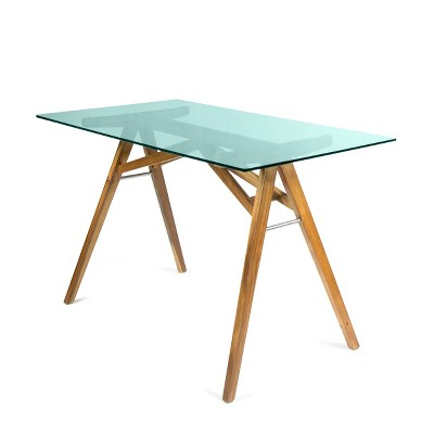 Camila Mid Century Desk Natural - Christopher Knight Home