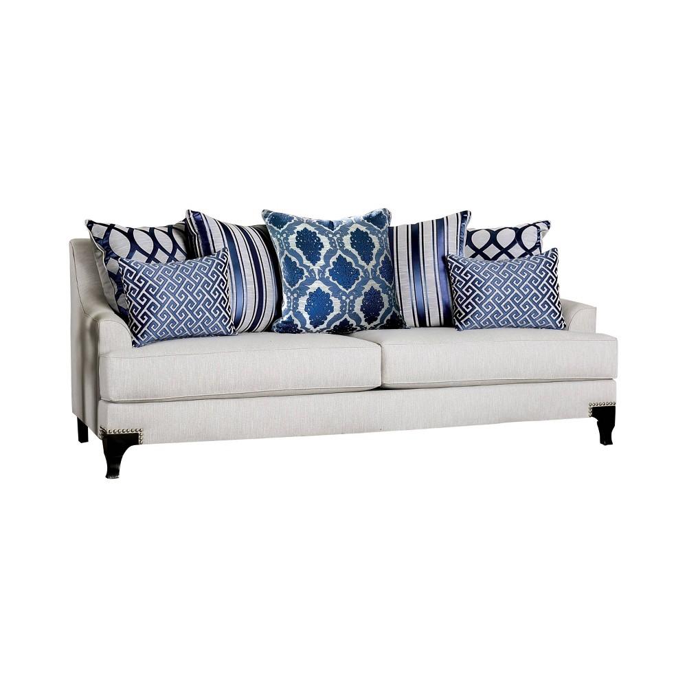 Jerica T Cushion Sofa Light Gray Homes Inside Out